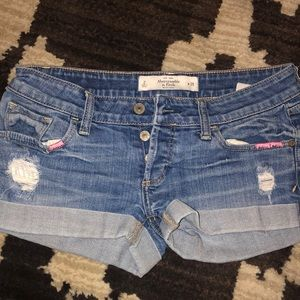 Abercrombie and Fitch short shorts